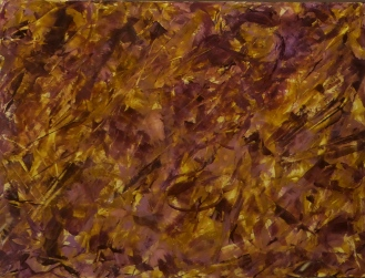 SATURDAY AFTERNOON AT THE OPERA Original Acrylic 24 x 18 inches by Doris Anderson (c) copyrighted 2014